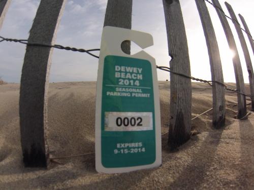 Seasonal Parking Permit, NON-RESIDENT, SHIPPED to you